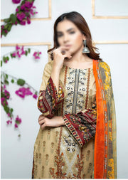 SSM05 - Readymade Simrans Lawn Luxury Collection Vol 1 2020 - Memsaab Online