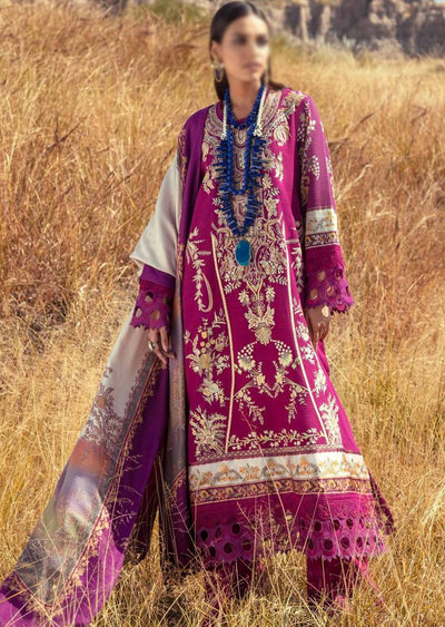 SNS08-A - Unstitched - Sana Safinaz Fall/Winter Collection 2020 - Memsaab Online