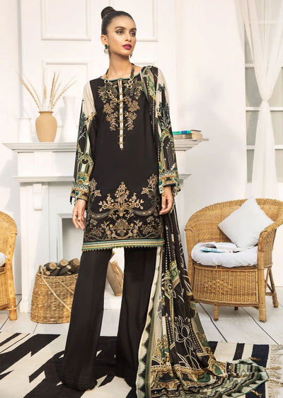 FBR08 - Unstitched - Farasha by Baroque Replica 2020 - Memsaab Online