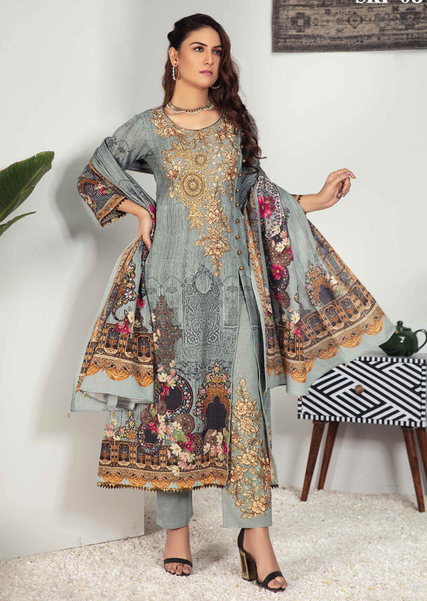 SKP-08 - Readymade - Riwayat Khaddar Collection by Simrans - Memsaab Online