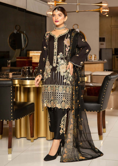 MSEL08 - Readymade - Munira Digital Linen Collection 2020 - Memsaab Online