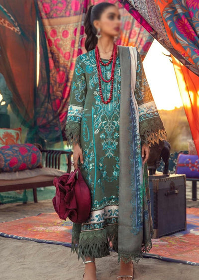SNS08-B - Unstitched - Sana Safinaz Fall/Winter Collection 2020 - Memsaab Online