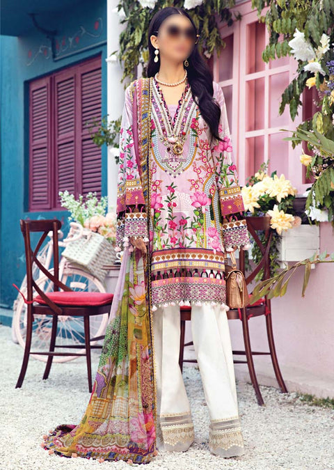 AV08-B - Leena - Unstitched - Viva Lawn Collection 2021 - Anaya by Kiran Chaudhry - Memsaab Online
