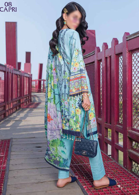 KKS08 - Capri - Readymade - Kuch Khas Collection by Simran Collection 2020 - Memsaab Online