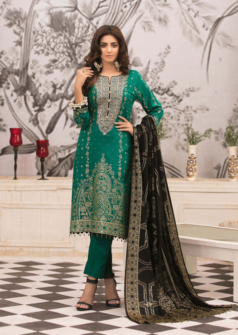 D-9016 - Unstitched Signature Icon Lawn Collection by Tawakkal 2020 - Memsaab Online