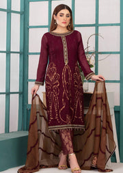D-9146 - Unstitched - La Belle Soiree Collection by Tawakkal 2020 - Memsaab Online