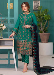 D-9147 - Unstitched - La Belle Soiree Collection by Tawakkal 2020 - Memsaab Online