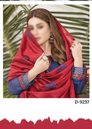 D-9237 - Unstitched - Calista Chiffon Collection by Tawakkal 2020 - Memsaab Online