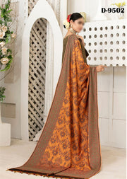 D-9502 - Unstitched - Amelie Pashmina Shawl Collection by Tawakkal - Memsaab Online