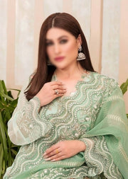 D9553 - Unstitched - Glory and Grandeur Fancy Chiffon Collection by Tawakkal - Memsaab Online