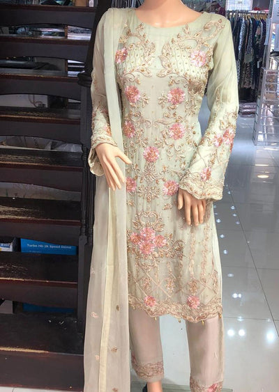 ZN9853 Readymade Zoon Gold Suit - Memsaab Online