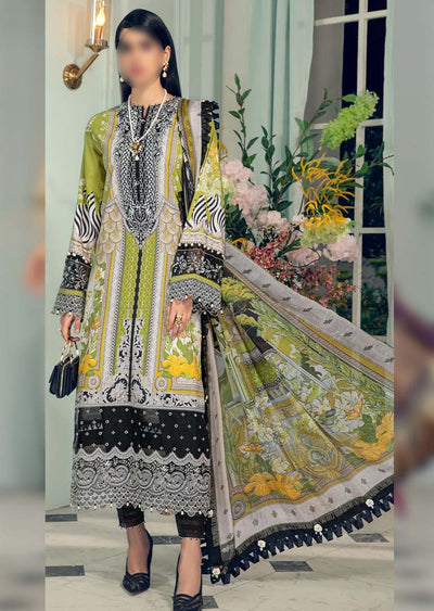 AL21-09-A - Jenna - Unstitched - Anaya L'Amour De Vie Collection by Kiran Chaudhry - Memsaab Online