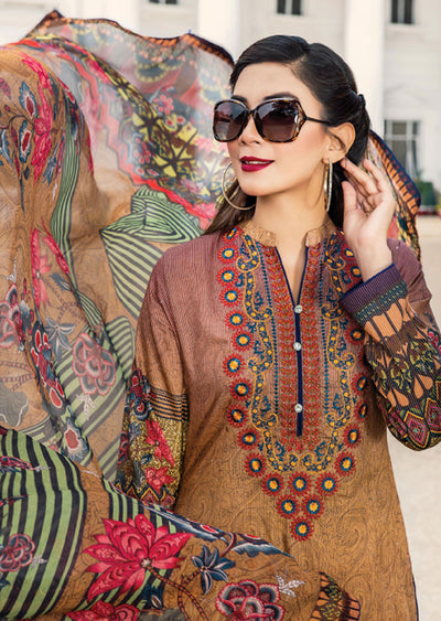 NS09 - Unstitched - Nishat Maysoori Embroidered Collection Vol 1 - Memsaab Online
