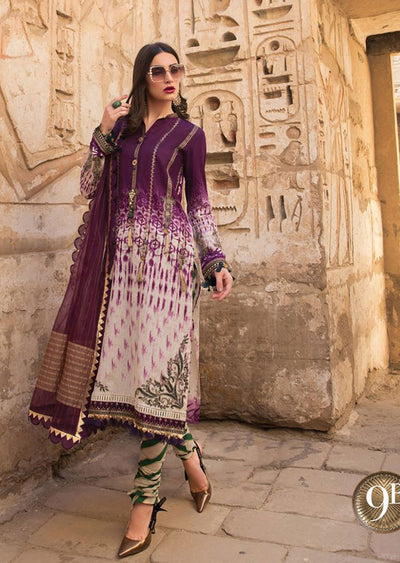 Unstitched - Maria B Luxe Lawn Collection 2020 - Memsaab Online
