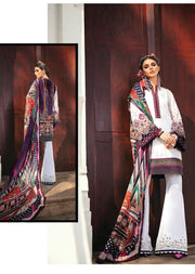 PL-09 Unstitched - CLOUD WAVE - Baroque Lawn 20 - Memsaab Online
