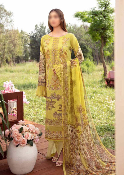 RM-09R - Readymade - Ramsha Chevron Lawn Collection Vol 6 - Memsaab Online