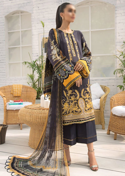 FBR09 - Unstitched - Farasha by Baroque Replica 2020 - Memsaab Online