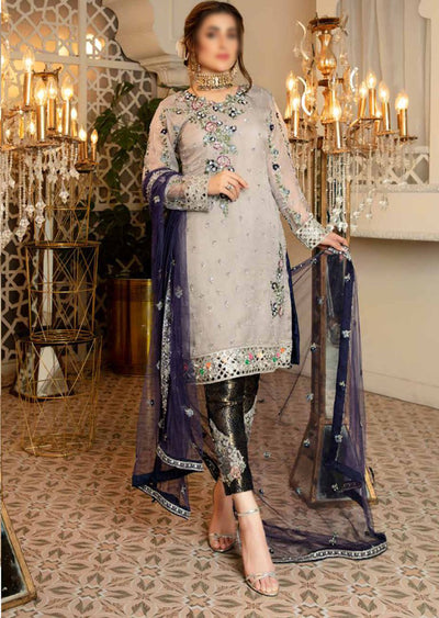 A106 - Readymade - Isleen Luxury Embroidered Collection 2021 - Memsaab Online