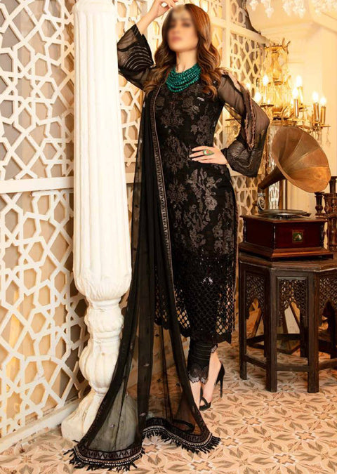 A110 - Readymade - Isleen Luxury Embroidered Collection 2021 - Memsaab Online