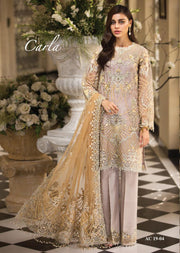 AC1904 - Anaya by Kiran Chaudhry La Belle Soiree Luxury Collection 2019 - Unstitched - Pakistani Designer wear - Memsaab Online