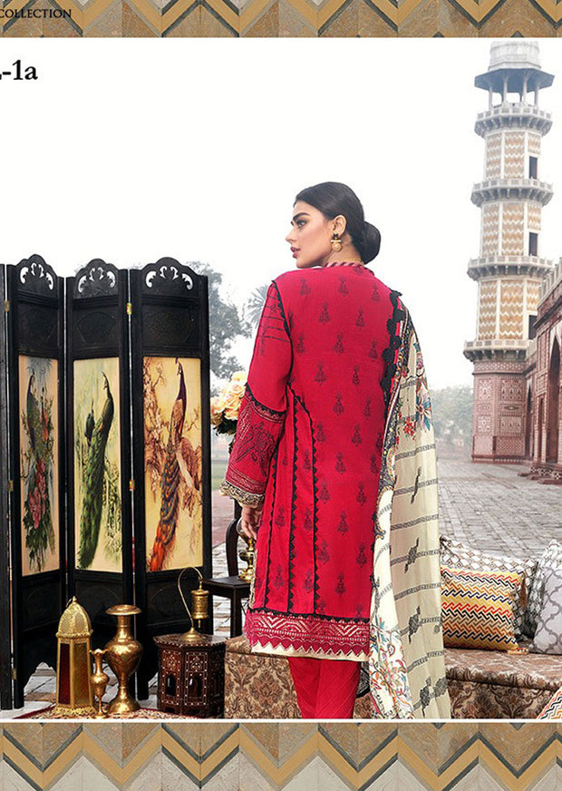 Unstitched - Asim Jofa Summer Luxury Lawn Collection 2020 - Memsaab Online