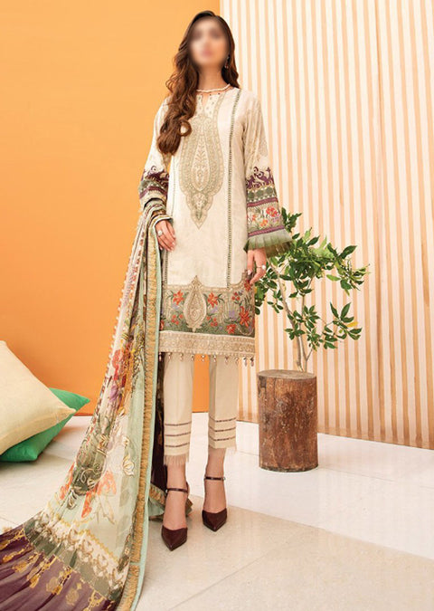 05 Ayle - Iris Readymade Embroidered Lawn Collection Vol 2 by Jazmin - Memsaab Online