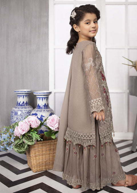 04 - Anushay - Simran Kids Designer Suit Readymade Collection Vol 4 - Memsaab Online