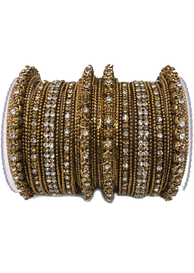 Gold/Silver Bangle Set - Memsaab Online