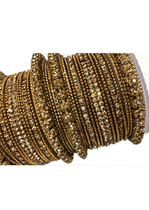 BD8 Golden Bangle Set - Memsaab Online