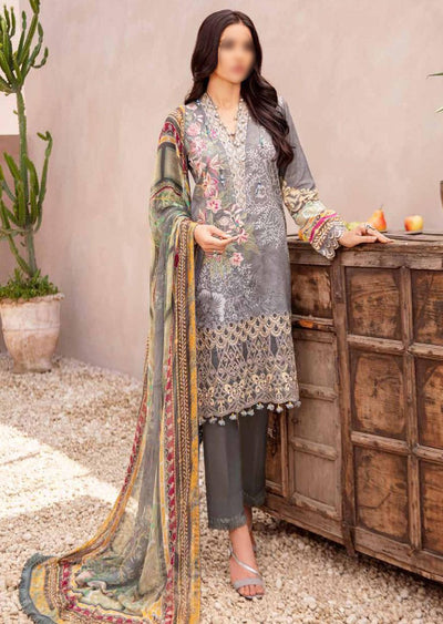 C-402R Readymade Chevron Luxury Lawn Collection Vol 4 - Memsaab Online