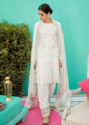 White Dream - Charizma - Unstitched - Eid Collection 2019 Pakistani Designerwear - Memsaab Online