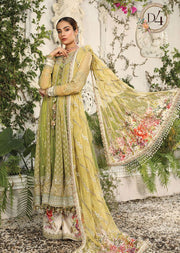 MSC04 - Unstitched - Maria B Embroidered Summer Collection 2020 - Memsaab Online