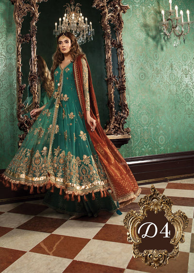 D4 Maria B Mbroidered Wedding Collection 18