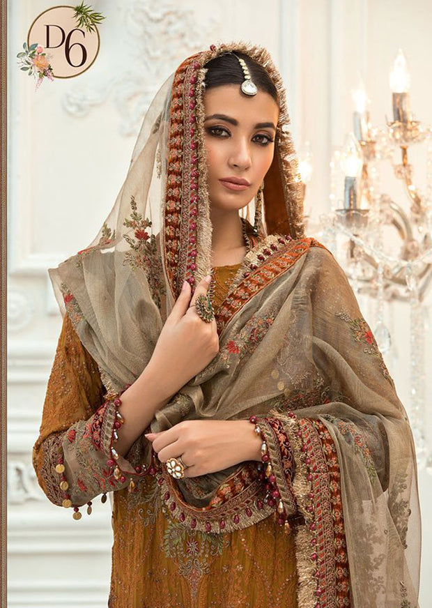 MSC06 - Unstitched - Maria B Embroidered Summer Collection 2020 - Memsaab Online