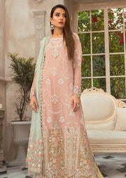 MSC07 - Unstitched - Maria B Embroidered Summer Collection 2020 - Memsaab Online