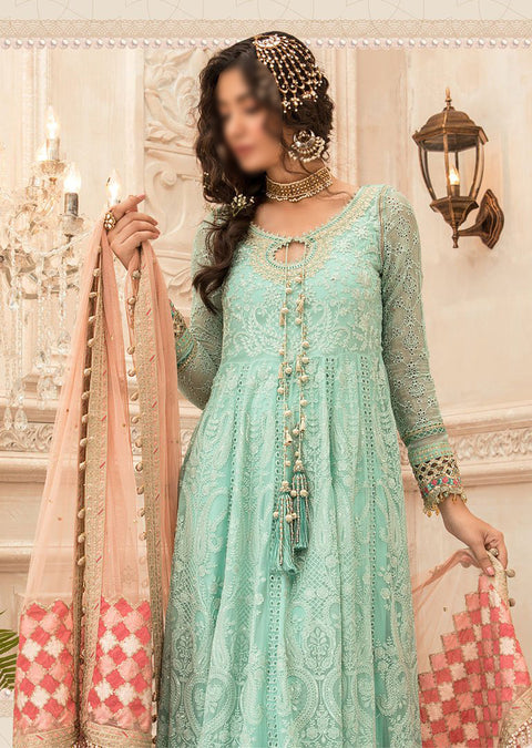 MSC08 - Unstitched - Maria B Embroidered Summer Collection 2020 - Memsaab Online