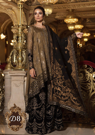 D8 Maria B Mbroidered Wedding Collection 18
