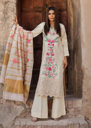 EA-129 Unstitched - Eshaisha Winter Embroidered Collection 2019 - Pakistani Designer Clothes - Memsaab Online
