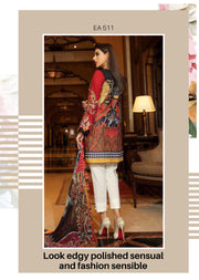 Eshaisha Luxury Embroidered Eid Collection - Unstitched Pakistani Designer Suit - Memsaab Online