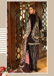 EA-528 Eshaisha Luxury Embroidered Eid Collection - Unstitched Pakistani Designer Suit - Memsaab Online