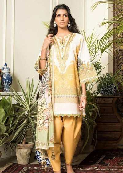 Eshaal Unstitched Linen Collection Vol 4 2019 - Pakistani Designerwear - Memsaab Online