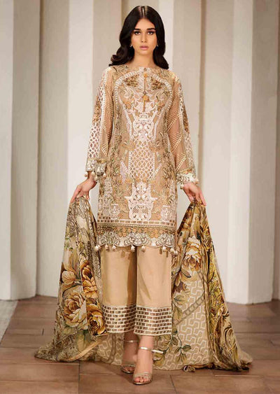 F-1704 Readymade Verve Vol 17 Collection by Ramsha - Pakistani designer chiffon suits - Memsaab Online