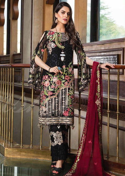 Unstitched - Ramsha Vol 18 - Mohni chiffon collection - Memsaab Online