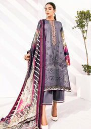 FHD09R Readymade Baroque Inspired Linen Embroidered Suit - Memsaab Online