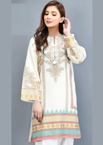 GL-04 Unstitched Gul Ahmed Inspired Lawn Suit - Memsaab Online