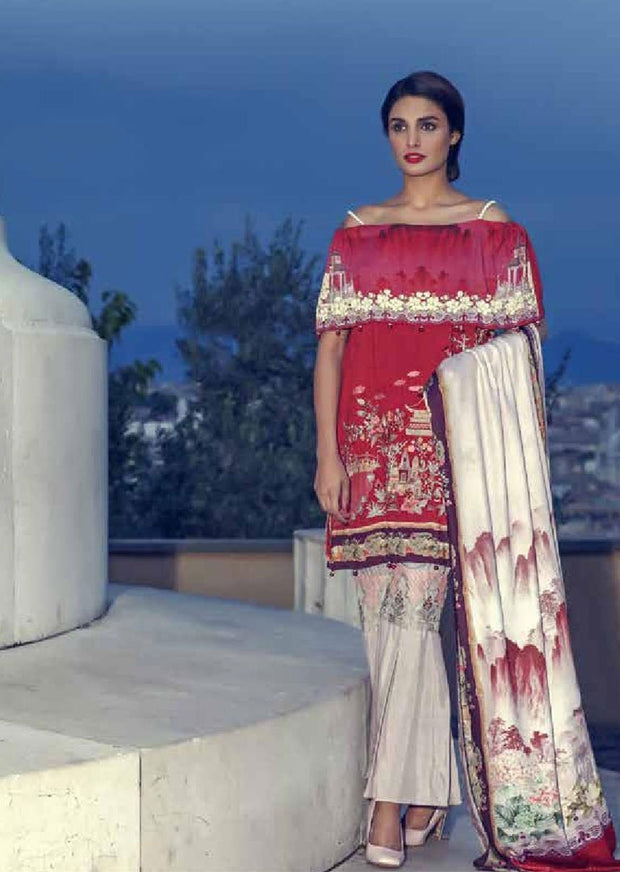 GULM20 Gulmohar Romanza Winter Collection - Memsaab Online