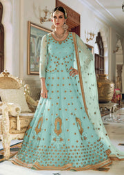 JF7399 Jinaam Floral Mughal Collection - Memsaab Online