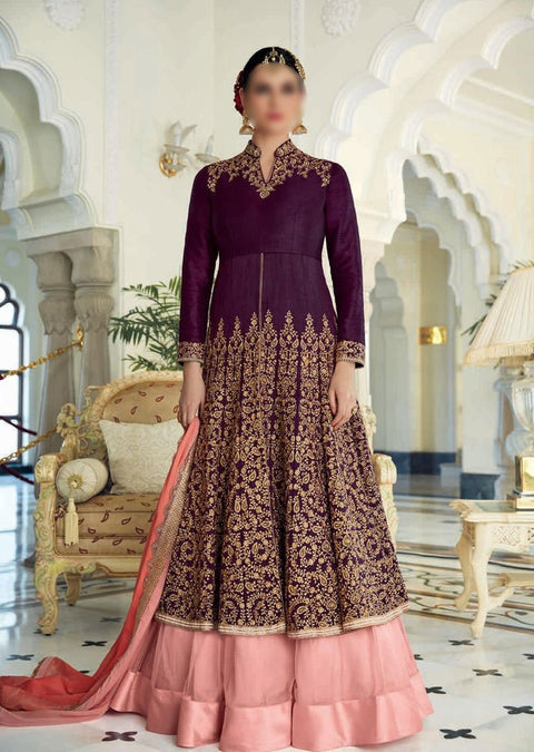 JF7400 Jinaam Floral Mughal Collection - Memsaab Online