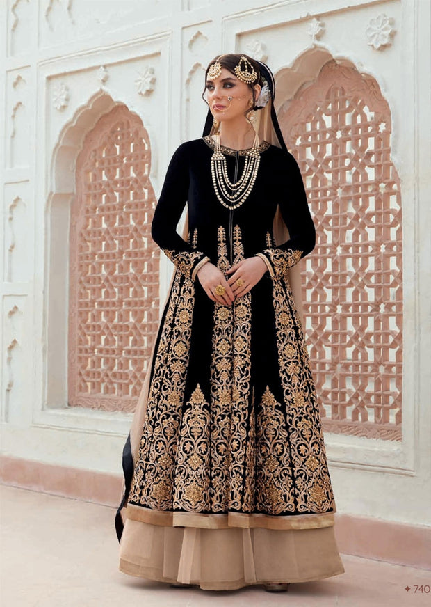JF7405 Jinaam Floral Mughal Collection - Memsaab Online