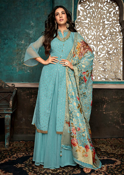 Maisha Sazia - Unstitched Collection 2019 - Indian Partywear Styles Suits - Memsaab Online